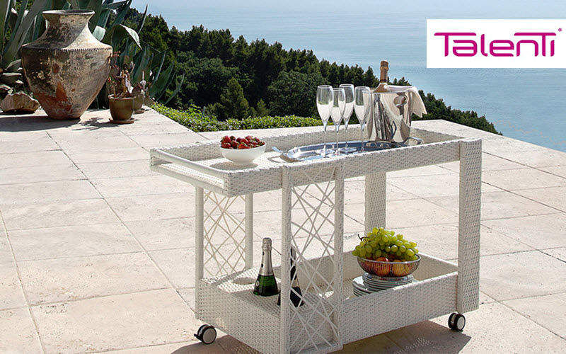 TALENTI Serviteur de jardin Tables de jardin Jardin Mobilier  |
