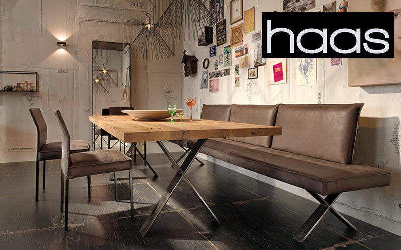 Haas Table de repas rectangulaire Tables de repas Tables & divers Salle à manger | Design Contemporain