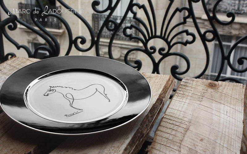 MARC DE LADOUCETTE PARIS Assiette plate Assiettes Vaisselle  |