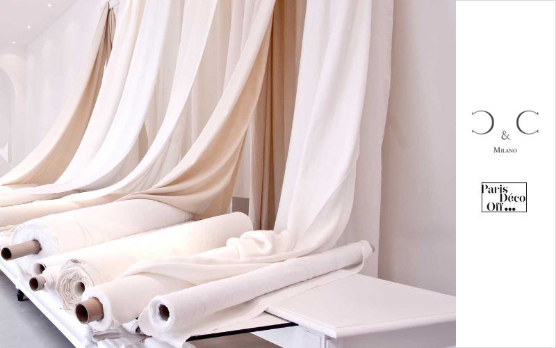 C&C Milano Tissu au mètre Tissus d'ameublement Tissus Rideaux Passementerie  |