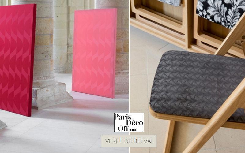 Verel De Belval Tissu d'ameublement pour siège Tissus d'ameublement Tissus Rideaux Passementerie  |