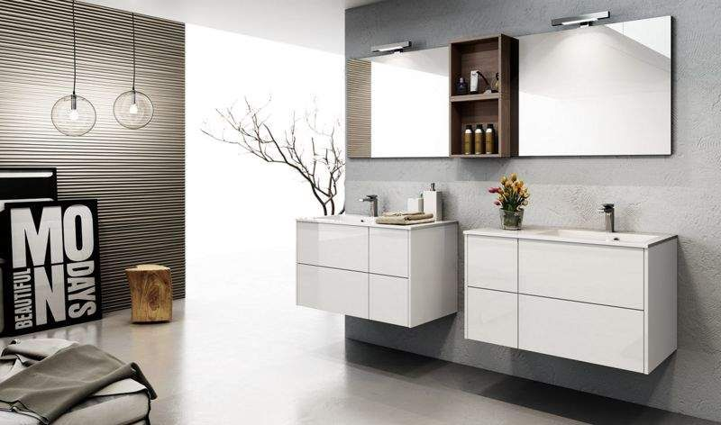 salle de bains style design contemporain decofinder. Black Bedroom Furniture Sets. Home Design Ideas