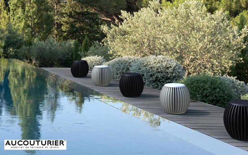 AUCOUTURIER Tabouret de jardin Divers mobilier de jardin Jardin Mobilier   