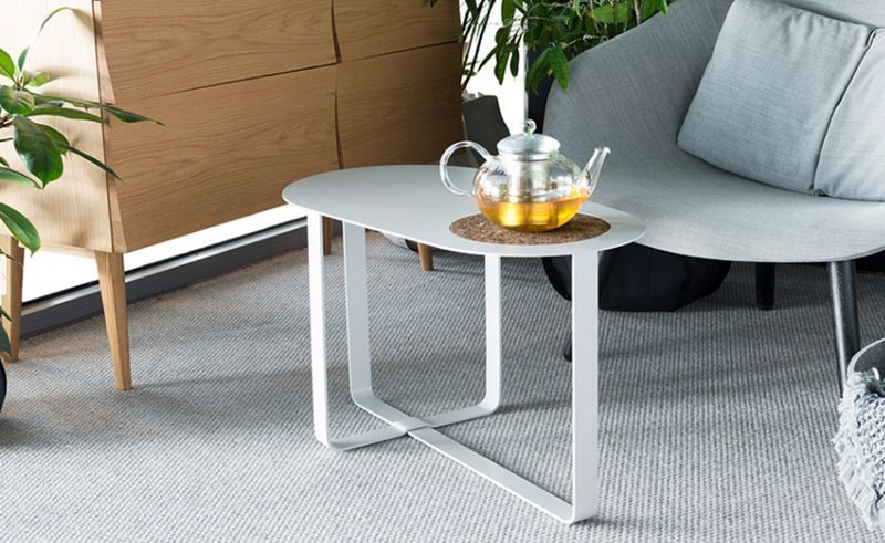 SUPERLIFE Table basse ovale Tables basses Tables & divers  | Design Contemporain