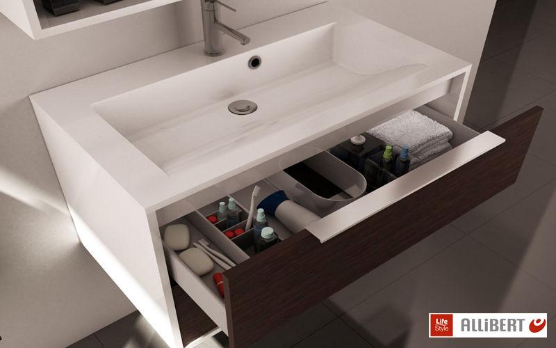 Allibert Meuble vasque Meubles de salle de bains Bain Sanitaires  |