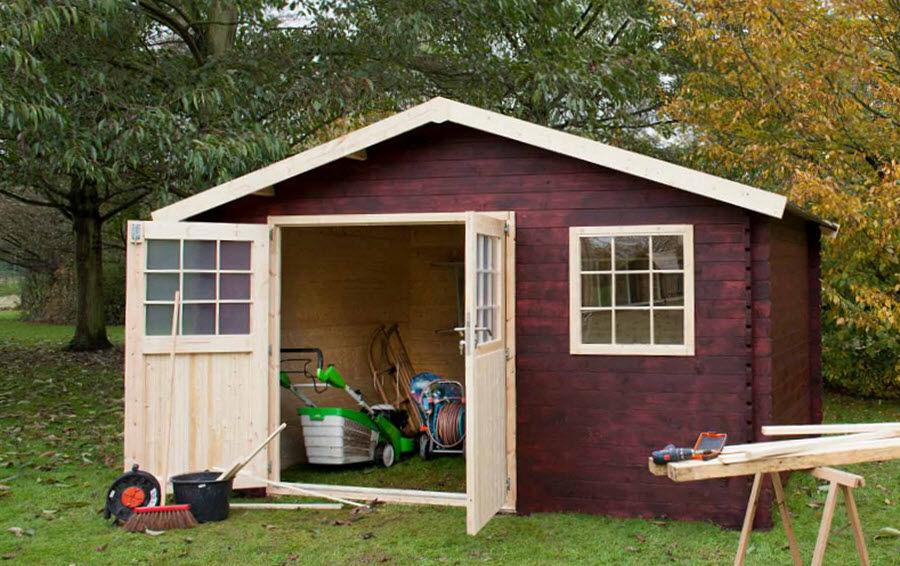Decor Et Jardin Abri de jardin bois Abris Chalets Jardin Abris Portails...  |