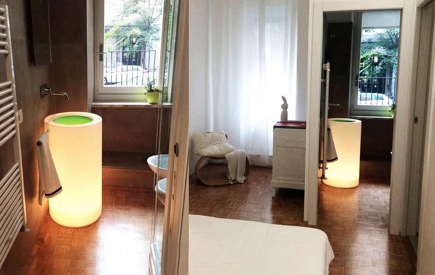 Wet Lavabo lumineux Vasques et lavabos Bain Sanitaires  |