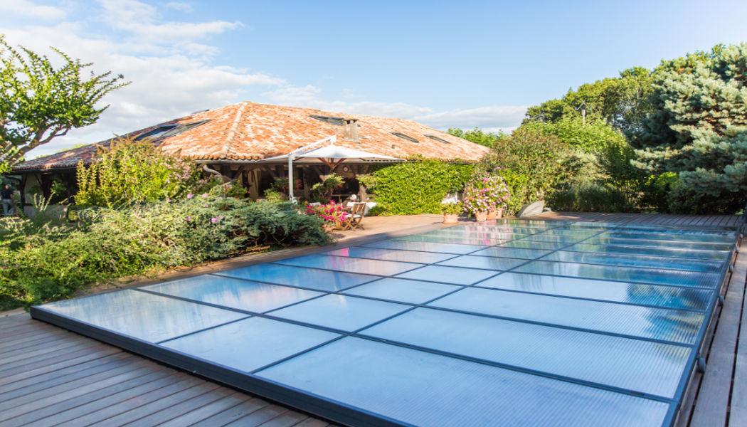 Abrideal Abri de piscine bas coulissant ou télescopique Abris de piscine et spa Piscine et Spa  |