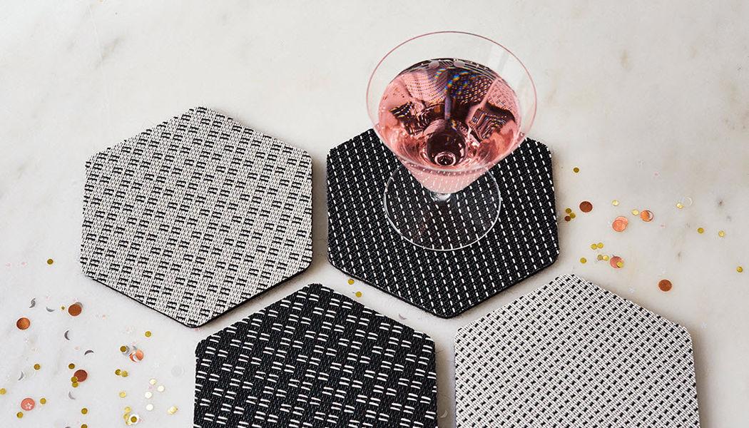 CHILEWICH Sous-verre Dessous de plats Accessoires de table Salle à manger | Design Contemporain