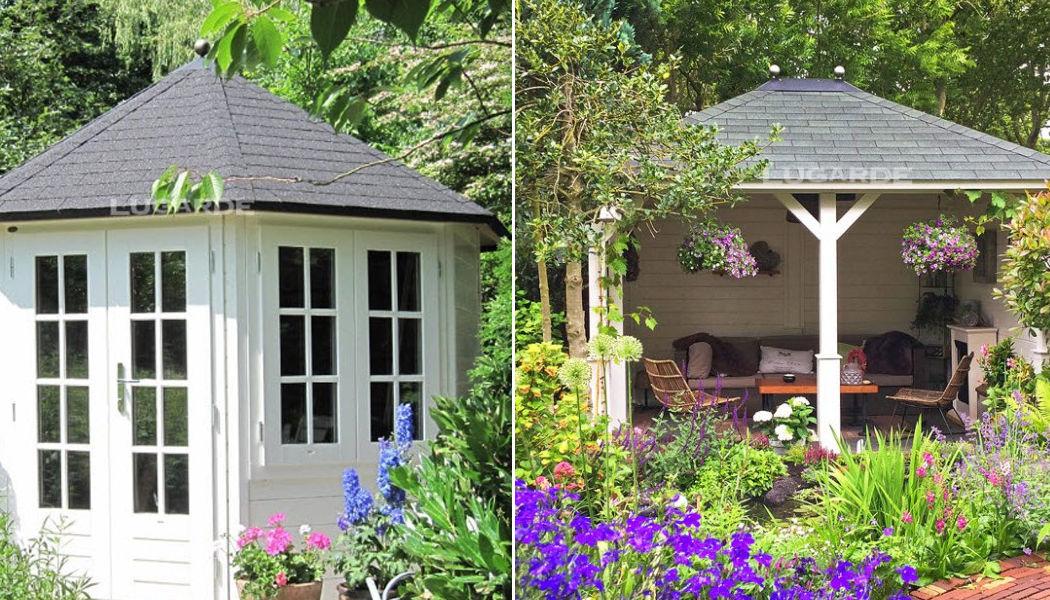 Lugarde Pavillon d'été Abris Chalets Jardin Abris Portails...  |