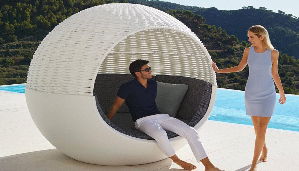 VONDOM Bain de soleil double Chaises longues Jardin Mobilier  |