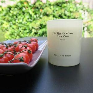 Christian Tortu Bougies - christian tortu - feuilles de tomates - Bougie Parfumée