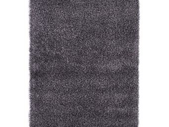 WHITE LABEL - tapis design soft small - gris - Tapis Contemporain