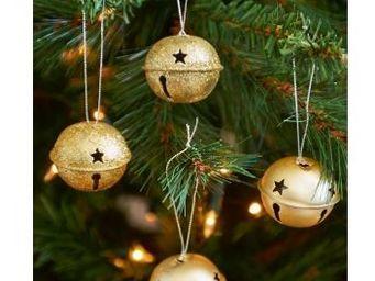 Riviera Maison - jingle bells gold - Boule De Noël
