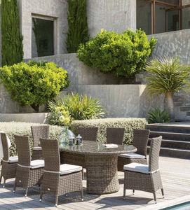 HESPÉRIDE - mooréa - Table De Jardin Ovale