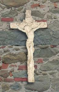 Garden Forest Crucifix