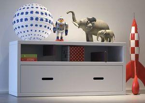 Gris Alba Decoracion Coffre à jouets