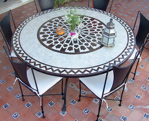 Decoracion Andalusia -  - Table De Jardin Ronde