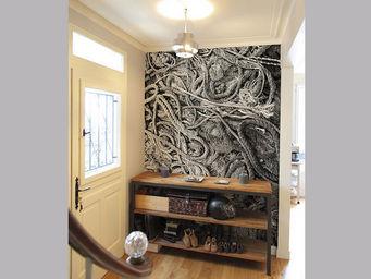 Ohmywall - papier peint de fil en aiguille - Papier Peint