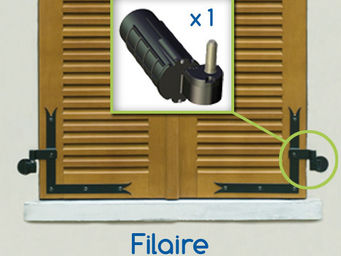 Wimove - kit motorisation volets battants droit wibat filai - Automatisme Et Motorisation Pour Volet
