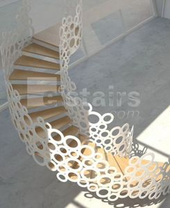 EESTAIRS -  - Escalier Un Quart Tournant