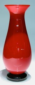 CARLSON ART GLASS -  - Vase À Fleurs
