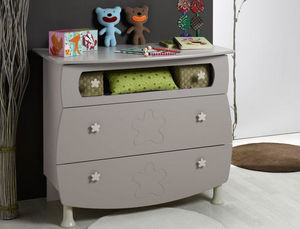 Katherine Roumanoff - commode bébé flower b - Commode Enfant