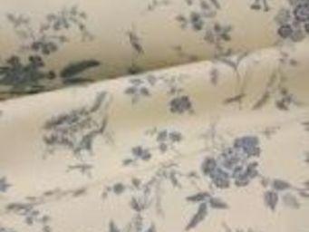 TISSUSDESLUNES - fleurs - Tissu D'ameublement