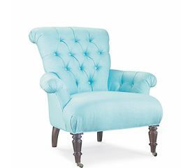 EARTH FRIENDLY UPHOLSTERY -  - Fauteuil � Roulettes