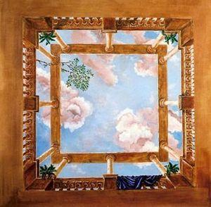 SYLVIE MAILHÉ POURSINES -  - Plafond Peint