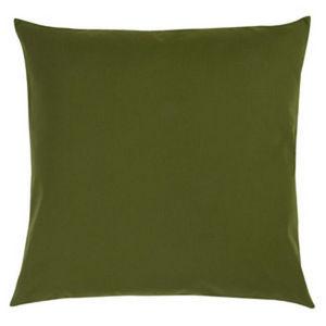 TROIS MAISON - coussin feuille verte 65 x 65 cm - Coussin Carr�