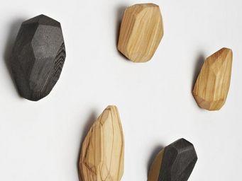 SLOW DESIGN - stone wood - Patère