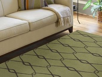 JILL ROSENWALD STUDIO - chain : avocado - Tapis Contemporain
