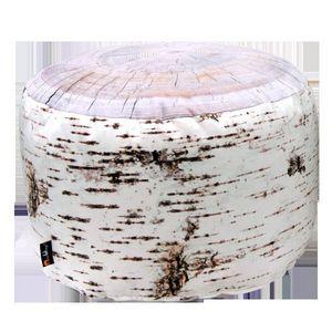 MEROWINGS - birch stump indoor pouf - Pouf