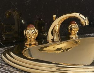 Serdaneli International - batterie sur vasque princess - Mélangeur Lavabo 3 Trous