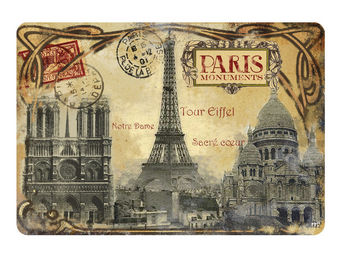 Orval Creations - set de table paris monuments - Set De Table