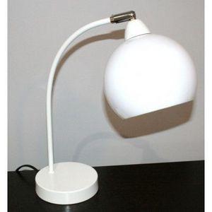 International Design - lampe arc boule - couleur - blanc - Lampe À Poser
