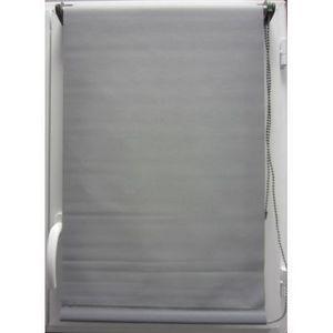 Luance - store enrouleur occultant gris 60x180 cm - Store Enrouleur