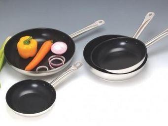 SCHUMANN PROFESSIONNEL - poeles tefflon - schumann professionnel - lot de 4 - Po�le � Cuisiner
