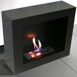 NEOFLAM - chemine bio thanol modern dual black - Cheminée Sans Conduit D'évacuation