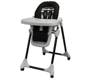 LOOPING - chaise haute tlescopique black lines - Chaise Haute Enfant