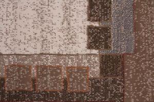 NAZAR - tapis contempo 60x110 caramel - Tapis Contemporain