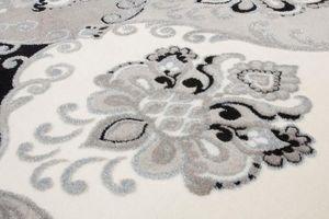 NAZAR - tapis empera 80x150 silver - Tapis Contemporain