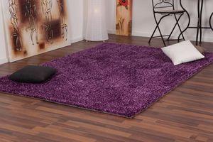 NAZAR - tapis focus 160x230 violet - Tapis Contemporain