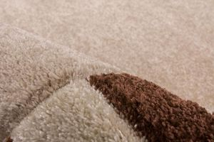 NAZAR - tapis havanna carving 120x170 beige - Tapis Contemporain