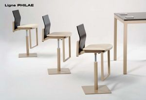 Mobilier Carrier - philae - Chaise Haute De Bar