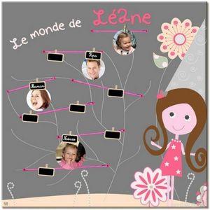 BABY SPHERE - arbre g�n�alogique univers de f�es - Arbre G�n�alogique Enfant