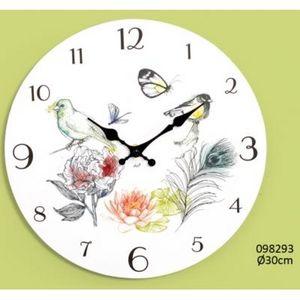 FAYE - horloge nymphea - Horloge Murale