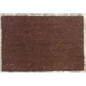 ILIAS - paillasson coco - couleur - marron - Paillasson
