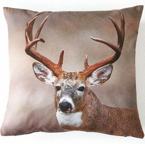 Blanche Porte - grand cerf - Coussin Carr�